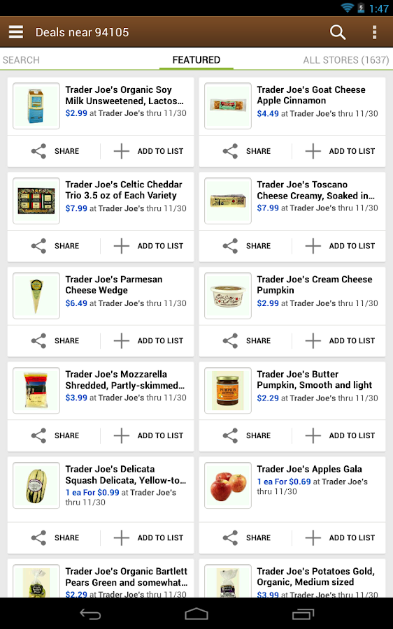 Out of Milk Shopping List - screenshot