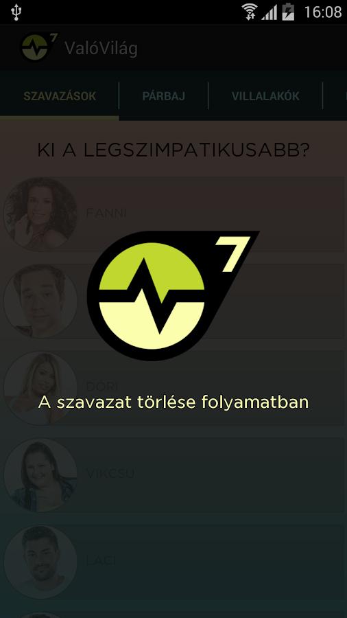 ValóVilág- screenshot