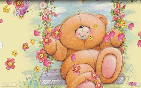 泰迪熊动态壁纸|玩個人化App免費|玩APPs