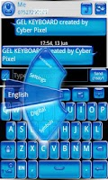 Screenshot of GEL GO Keyboard