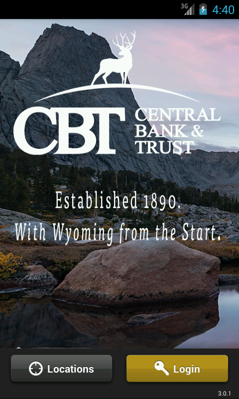 Central Bank & Trust Wyoming - screenshot