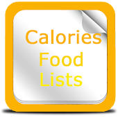 Calories Food Lists