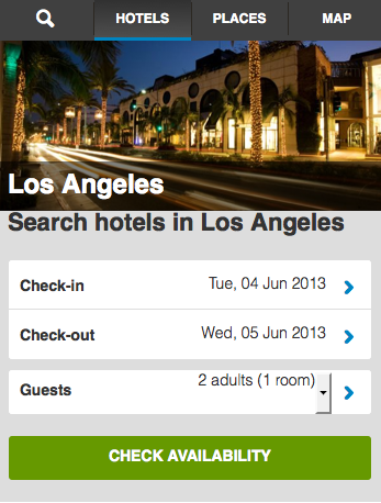 Los Angeles Hotels Booking