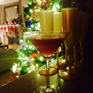 Cherry Breeze Martini.