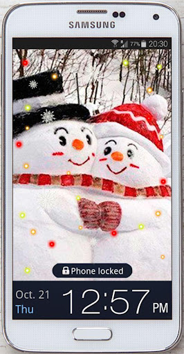 Winter Romantic live Wallpaper