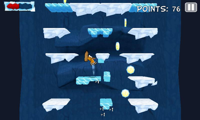 Icy Joe Extreme Jump- screenshot