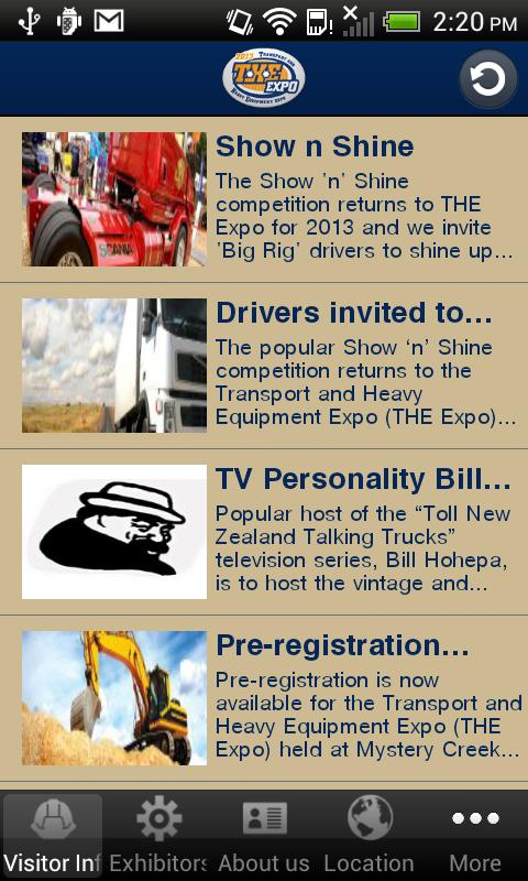 Visitor App for THE Expo- screenshot