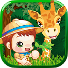 Zoo Animal Family Learning! icon