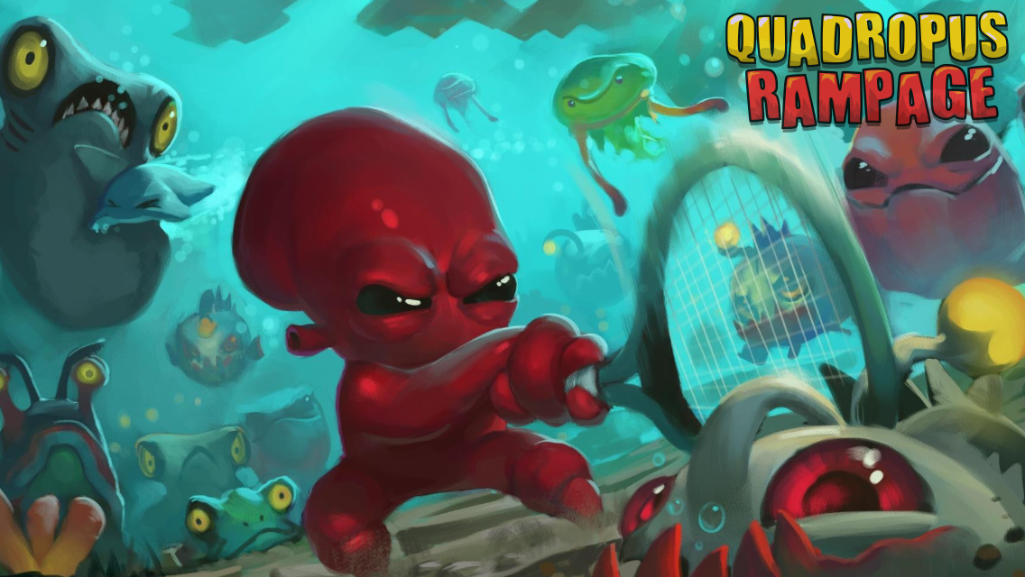 Quadropus Rampage - screenshot