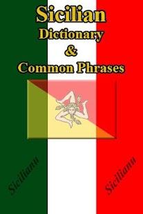 Sicilian Dictionary