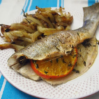 Roasted Branzino with Citrus and Caramelized Fennel
