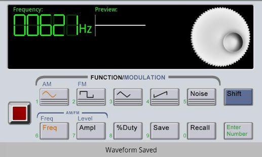 Waveform Generator - screenshot thumbnail
