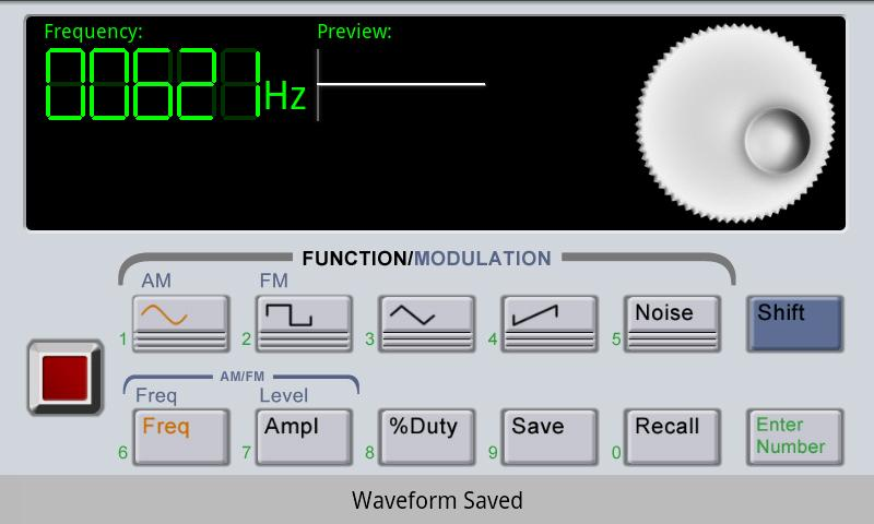 Waveform Generator - screenshot