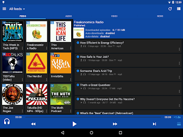 DoggCatcher Podcast Player Screenshot 1