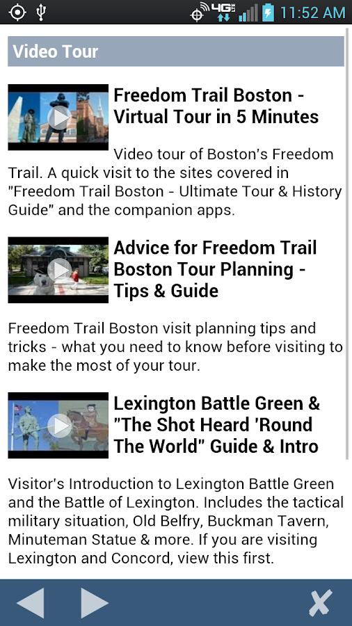 Freedom Trail Boston- screenshot