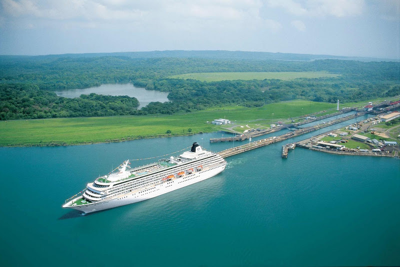 Crystal Symphony will take you through the Panama Canal, one of the seven wonders of the modern world.