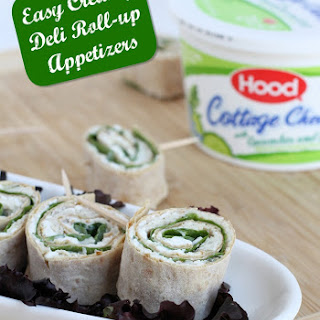 Cottage Cheese Deli Roll Up Appetizers