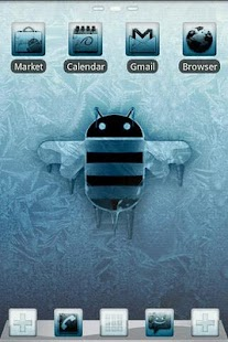 ICY GO Launcher Theme- screenshot thumbnail