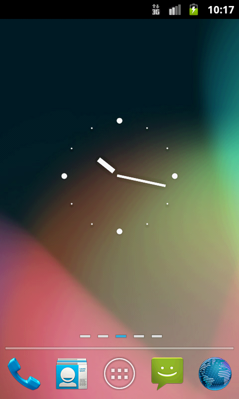 GOLauncher EX Theme Jelly Bean - screenshot