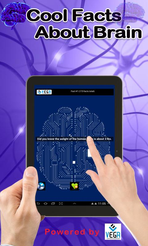 Cool Facts about Brain- screenshot