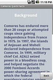 Comoros Quick Facts