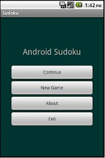 Andy's Sudoku- screenshot thumbnail