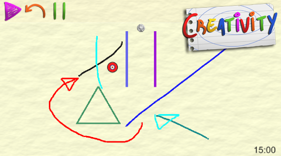 drawing the path - screenshot
