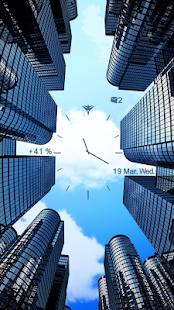 City Sky Live Locker Theme
