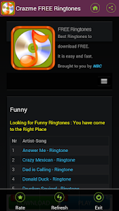 FREE Ringtones Crazme screenshot 6