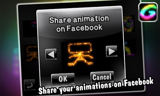Glowing -create fun animations- screenshot thumbnail
