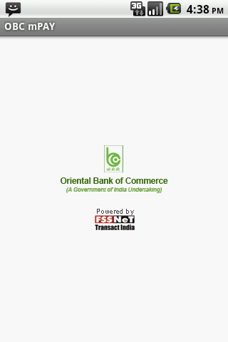 Oriental Bank of Commerce - screenshot