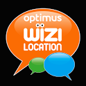 Optimus Wizi Location icon