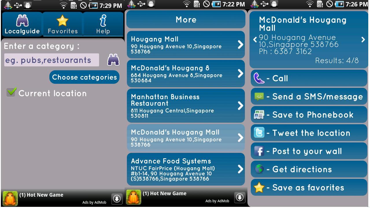 Local Guide- screenshot