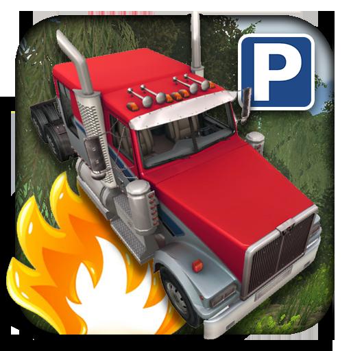 模擬App|3D西方卡车停车场 LOGO-3C達人阿輝的APP