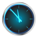 Holo Clock icon