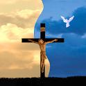 jesus on cross live wallpaper icon
