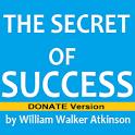 The Secret of Success - DONATE icon