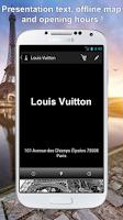 Screenshot of Paris Luxury : shopping guide