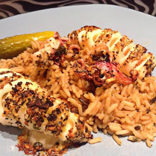 Broiled Squid with Montreal Steak Spice