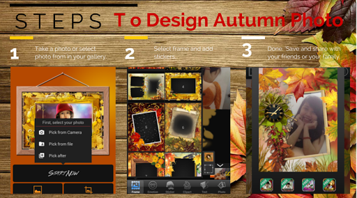 Autumn Photo Frame +