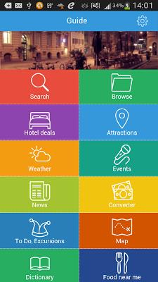 Budapest Guide Weather Hotels - screenshot