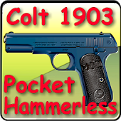 "Colt 1903 pocket ""hammerless"""