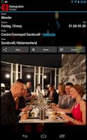 Screenshot of Dansguiden