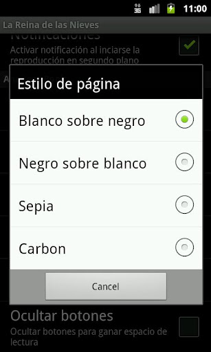 Screenshots #5. La Reina de las Nieves / Android