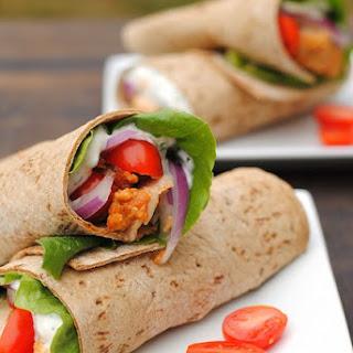Tandoori Chicken Wraps Recipe