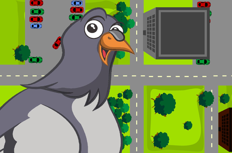 Traffic Pigeon Racer- screenshot