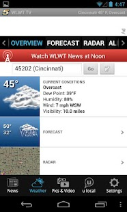 WLWT Cincinnati news, weather - screenshot thumbnail