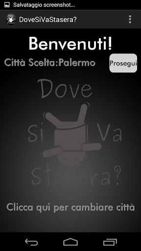 DoveSiVaStasera Palermo