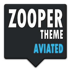 AVIATED - ZOOPER SKIN THEME 個人化 App LOGO-APP試玩