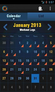 Gymprovise Gym Workout Tracker - screenshot thumbnail